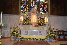 easter church decorations easter decorations 2016 st matthias catholic church bala cynwyd pa