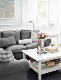 ideas to decorate a small living room 14 surprisingly chic ikea living rooms living rooms room and gray