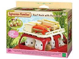 sylvanian families cuisine sylvanian families roof rack with picnic set sylvanian families