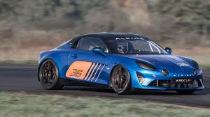 renault one renault reveals alpine a110 cup race car for one make series