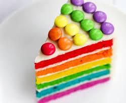 rainbow cake recipe bbc good food