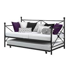 Sofa Bed Metal Frame Insassy Twin Size Hi Rise Bed Daybed Frame And