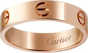 cartier love rings images Crb4084800 love ring pink gold cartier png