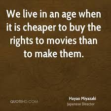 hayao miyazaki quotes quotehd