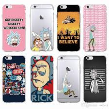 Meme Case - rick and morty funny cartoon comic meme soft clear phone case cover