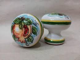 pomelli per cucina pomoli ceramica pomelli maiolica caltagirone a acireale