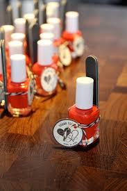 nail baby shower favors tutorial essie nail favors noel