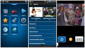 my at t app for android 100 live tv channels now available for the via at t u