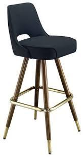 bar stools restaurant grotto mid century modern wood barstool overstock com shopping