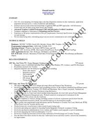 Database Developer Sample Resume by Informatica Administration Sample Resume Uxhandy Com