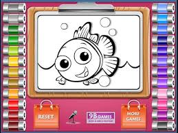 finding nemo coloring pages coloring pages kids