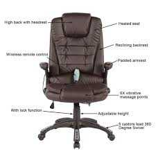 Lounge Chair Dimensions Ergonomics Heated Vibrating Massage Chair Executive Ergonomic Computer Office