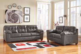 tufted faux leather sofa living room affordable grey leather recliner sofa and loveseat