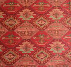 Navajo Home Decor by Ethnic Tribal Style Upholstery Fabric Double Faced Cloth Aztec