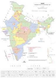 States Of India Map by India Map States Districts