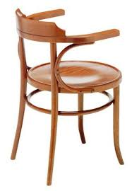 Thonet Vintage Chairs Michael Thonet Designed B165 Open Back Bentwood Arm Chair