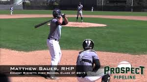 ernest righetti high school yearbook matthew sauer prospect rhp ernest righetti high school