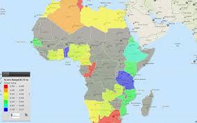 africa map 2014 africa map of map of africa energy architecture performance index