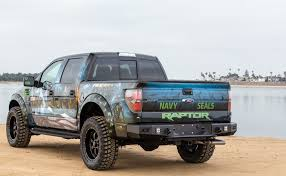 ford baja truck ford raptor navy project build by baja designs