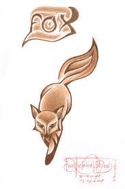 tribal fox by panhesekielshiroi on deviantart