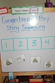 gingerbread man songs poems and sequencing cards gingerbread