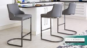 Uk Bar Stools | black chrome bar stool with backrest danetti uk