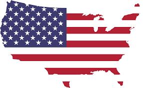 Americsn Flag Clipart America Flag Map With Of Lapiccolaitalia Info