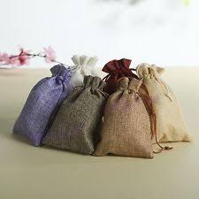 burlap gift bags burlap favor bags ebay