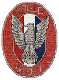 eagle scout badge cross stitch patterns