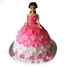 doll cake send white n pink doll cakes online white n pink doll cakes