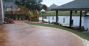 several outdoor flooring concrete styles to gain not only