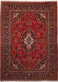 Kashan Persian Rugs by 12360 Kashan 278x198cm Iranian Carpet