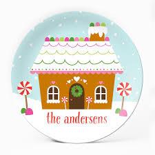 gingerbread house plate u2013 milogiftshop