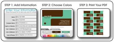 business card maker online free printable business card designs