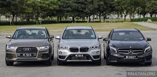 kereta audi bmw leads mercedes benz audi in 2015 sales charts