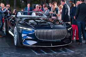 inside maybach mercedes maybach volkswagen rimac at the 2017 pebble beach