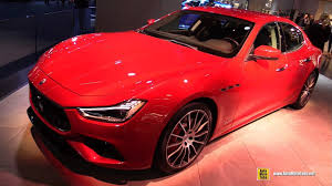 custom maserati interior 2018 maserati ghibli sq4 exterior and interior walkaround