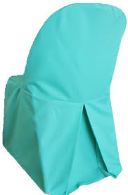 blue chair covers aqua blue polyester folding chair covers