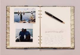 memorial book falling leaves funeral guest book funeral register book with a