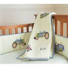 Tractor Crib Bedding Pottery Barn Tractor Nursery Bedding Baby Pinterest