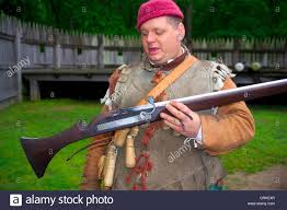 wooden flasks a historical interpreter describes a matchlock musket and the