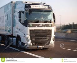 volvo semi truck price brand new semi truck royalty free stock photo image 20952645