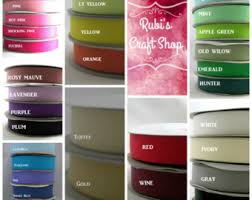 ribbon by the yard 50 yards of 3 8 grosgrain ribbon hair accessorie craft supply hair