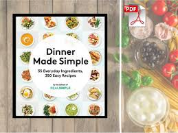Teh Sisri dinner made simple 35 everyday ingredients 350 easy recipes pdf free
