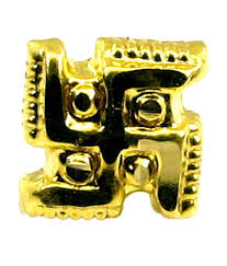 Swastik Decoration Pictures Karizma Jewels Swastik Design Nose Pin Buy Karizma Jewels Swastik