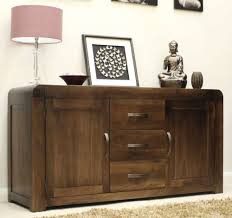buy baumhaus shiro walnut large sideboard online cfs uk