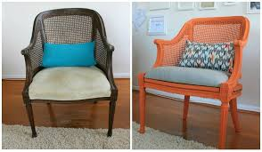 Reupholster Armchair Tutorial How To Reupholster A Chair Infarrantly Creative