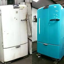 painting a fridge wallpapered fridge makeover wallpaper and kitchens fantastic makeovers painting appliances black painting a fridge