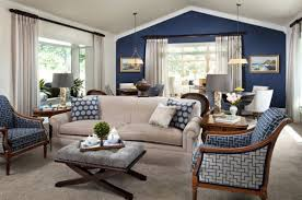 Blue Living Room Decor Home Design Ideas - Living room design blue