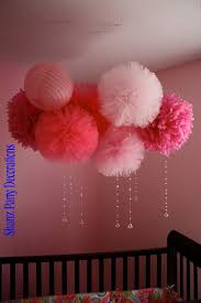 tulle pom pom for weddings party decorations and centerpieces